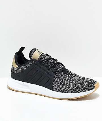 adidas Xplorer Core zapatos en negro, blanco y goma