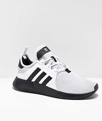 adidas Xplorer Grey, White & Black Shoes