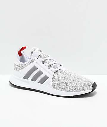 the best attitude 64bce 4ab99 adidas Xplorer White, Heather Grey  Red Shoes