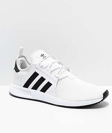 adidas Xplorer White & Black Shoes