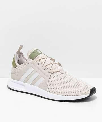 adidas Xplorer zapatos en beis, verde y blanco