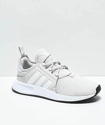 adidas Xplorer zapatos en gris claro y blanco