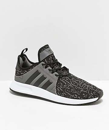 adidas Xplorer zapatos en negro, gris y blanco