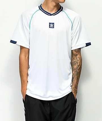 adidas jersey atlética blanca