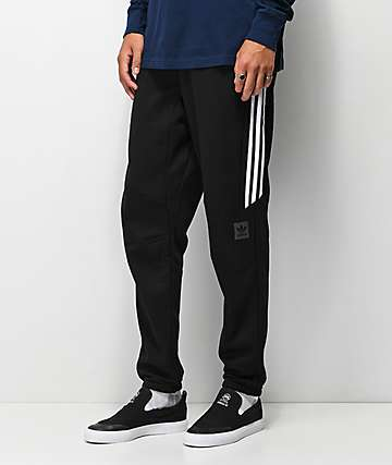 adidas pantalones de chándal técnicos negros