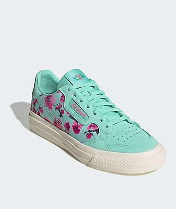 adidas x AriZona Tea Continental Vulc Green Tea Teal Shoes
