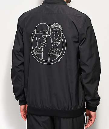 adidas x Beavis and Butthead Black Jacket