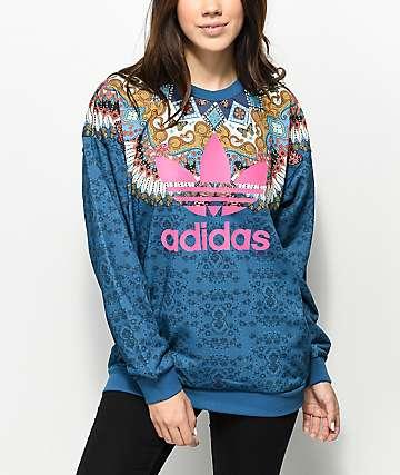 adidas x Farm Borbomix Crew Neck Sweatshirt