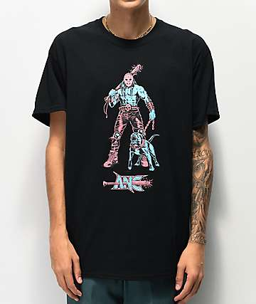 aintnobodycool Destroyer Black T-Shirt