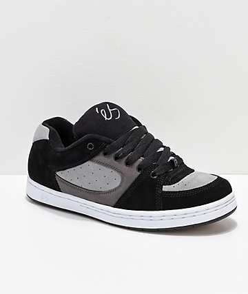 eS Accel OG Black, Charcoal & White Skate Shoes