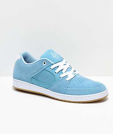 eS Accel Slim zapatos skate en azul claro