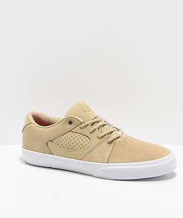 eS Square Three Bone & White Skate Shoes