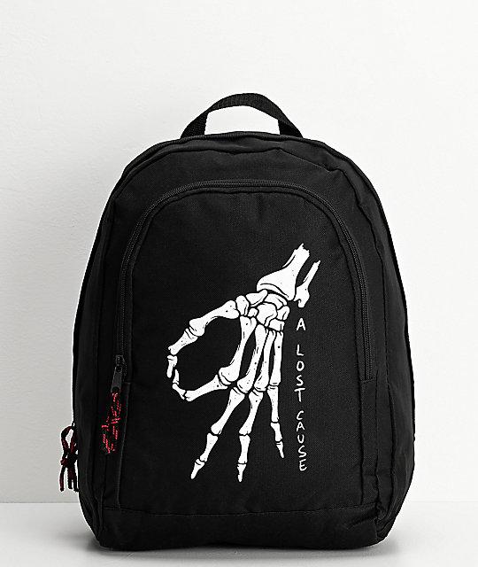 A Lost Cause Gotcha Black Backpack