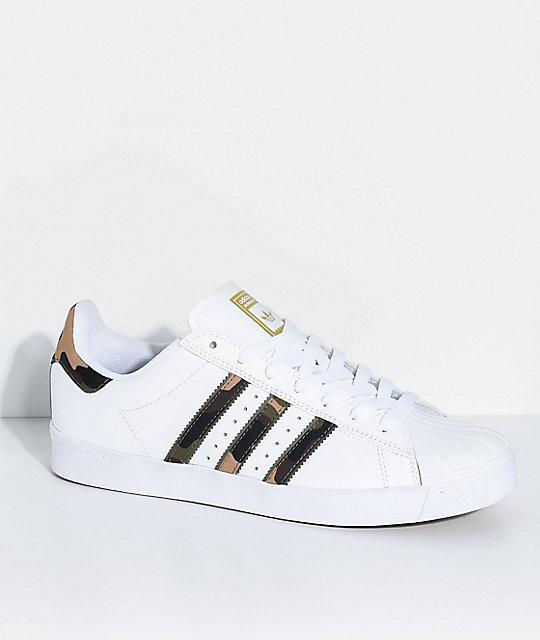 Adidas Superstar Zapatos De Camuflaje Blancos Y NOv8nwmy0P
