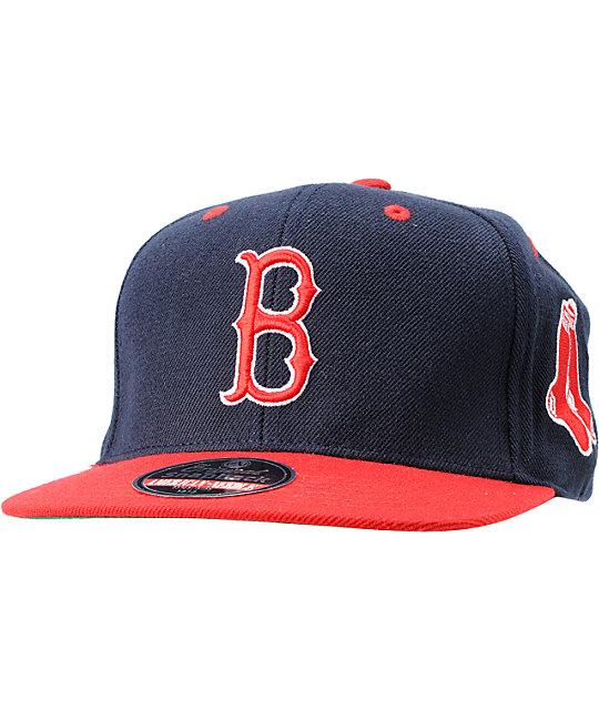 f9f0415ae080d0 American Needle Blockhead Boston Red Sox Snapback Hat | Zumiez