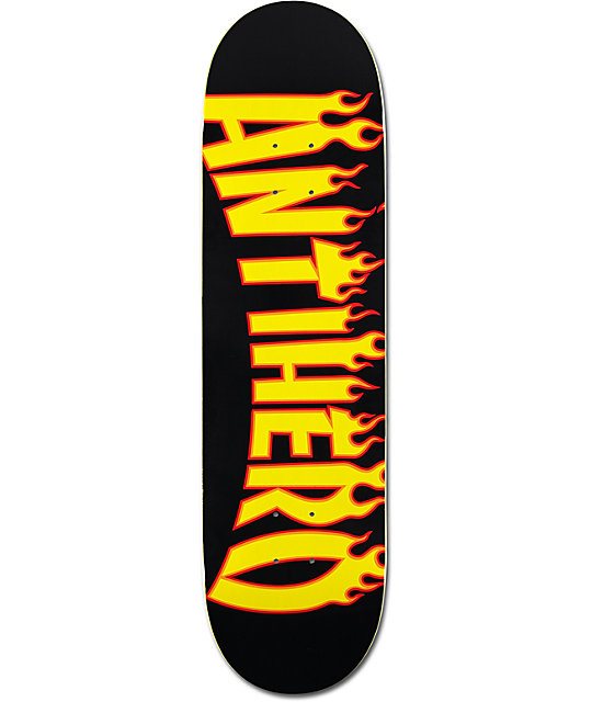02123552d2cb Anti Hero Flaming Skate Co 8.38