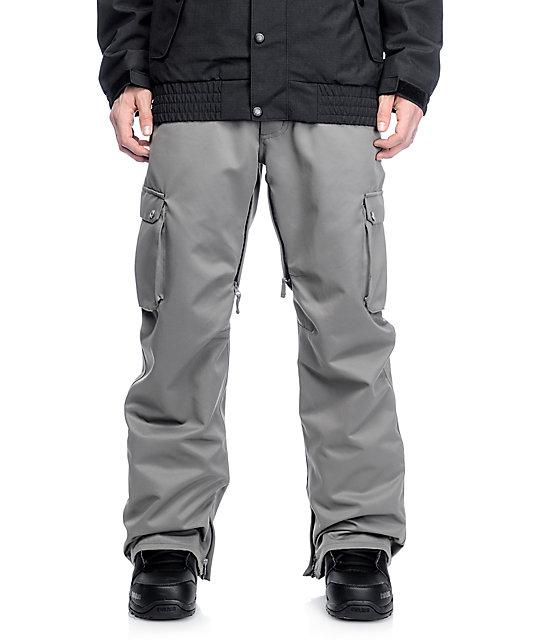 e8416086e46fc Aperture Alive 10K Charcoal Cargo Snowboard Pants | Zumiez
