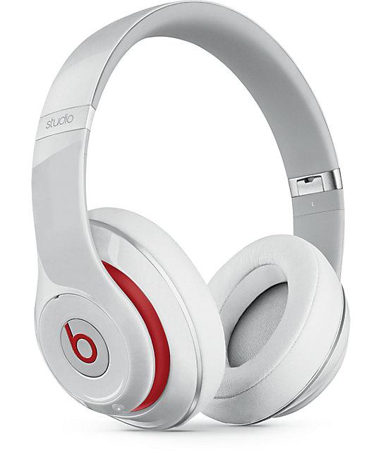 3faf1548cb7 Beats By Dre Studio 2 White Headphones   Zumiez