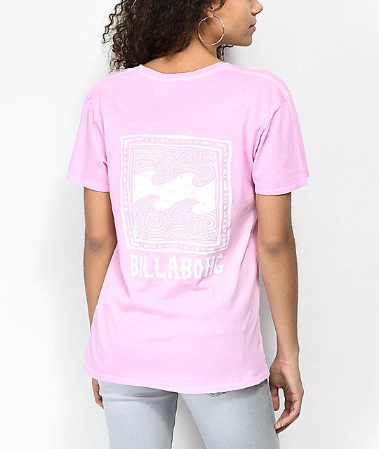 759e7df859fd Billabong Beach Daze New Wave Pink T-Shirt | Zumiez