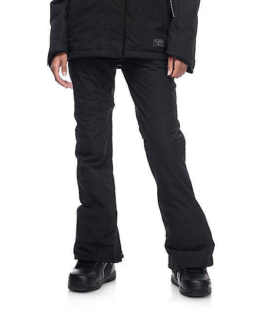 b33dbd5dd3 Billabong Malla Black 10k Snowboard Pants | Zumiez