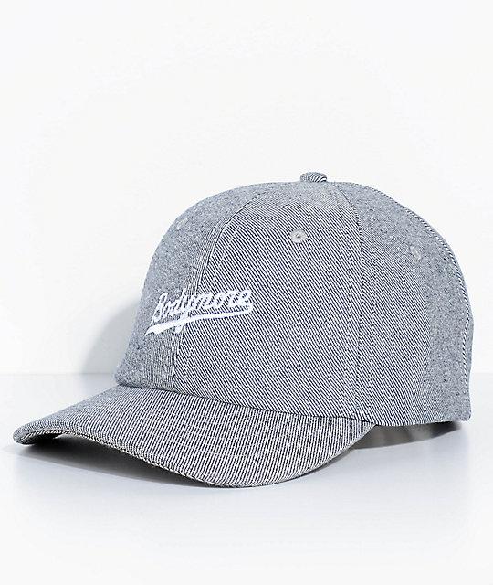 254408e27 Bodymore Denim Strapback Hat