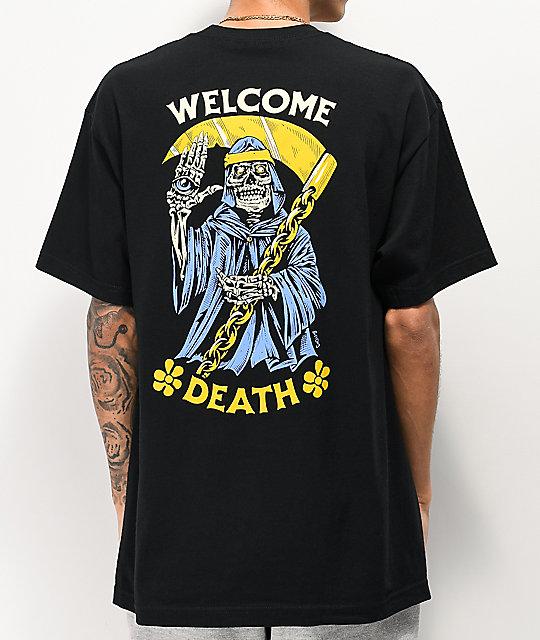 ba39b96a498 Boss Dog Welcome Death Black T-Shirt | Zumiez