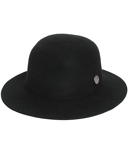 a65b11125dfd28 Brixton Cason Felt Fedora Hat | Zumiez