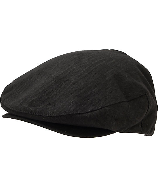 be62c53f37a8b Brixton Hooligan Black Snap Cap   Zumiez