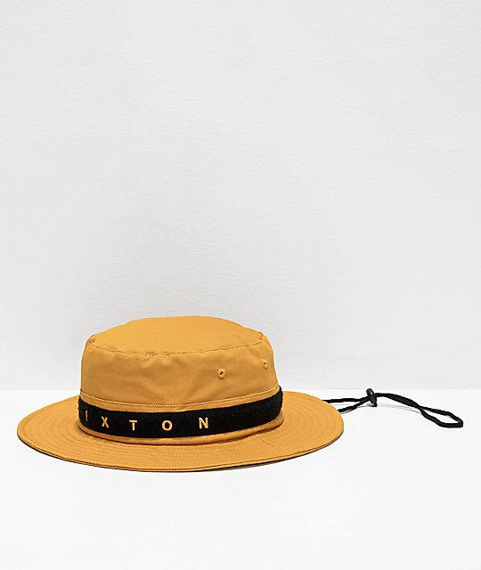 d4384903a7d7f4 Brixton Ration III Maize Bucket Hat   Zumiez
