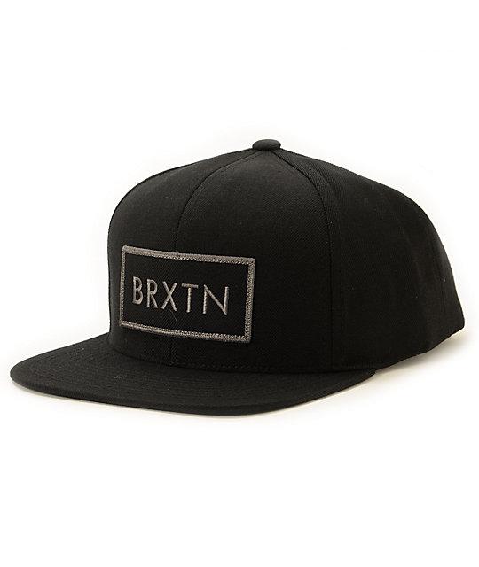 36c6761930 Brixton Rift Snapback Hat