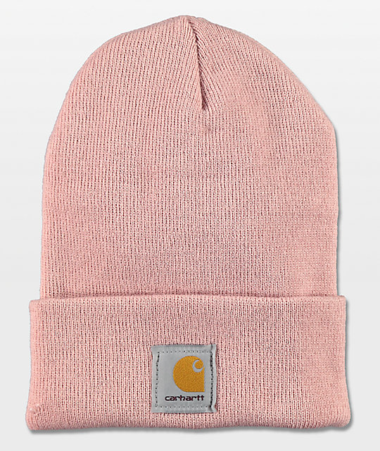 bc9f882ac31 Carhartt Watch Misty Rose Beanie