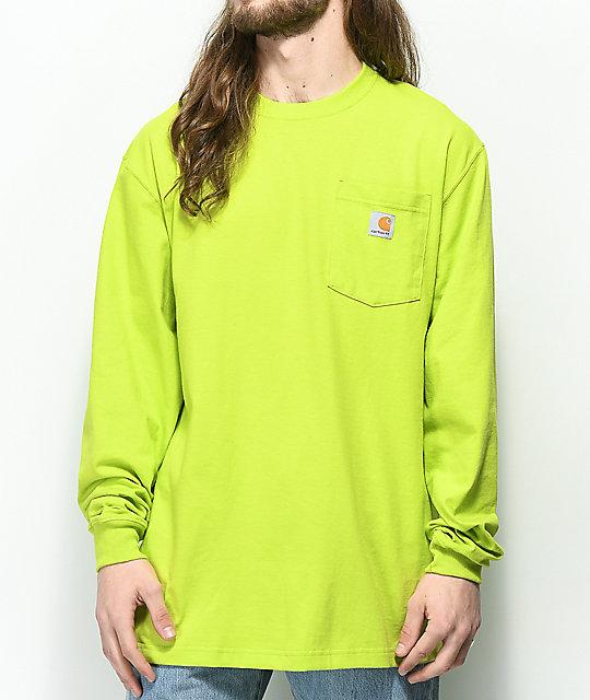 ac0b8d435 Carhartt Workwear Sour Apple Long Sleeve T-Shirt | Zumiez