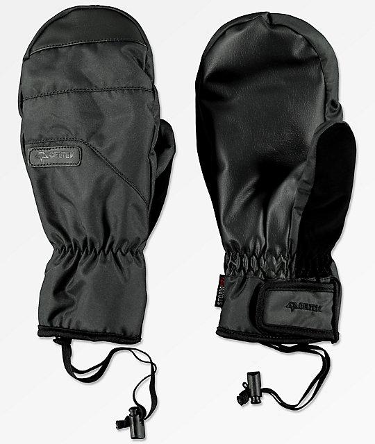 deb11ccdc9431a Celtek Ace Under Mitten Black Snowboard Mittens | Zumiez