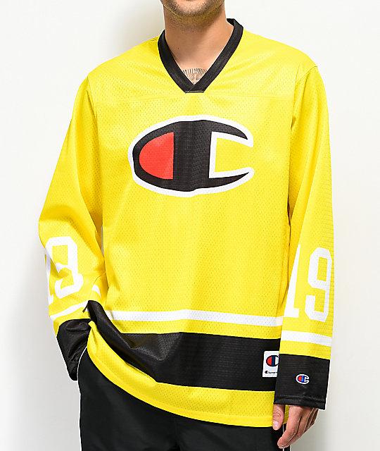 timeless design c5424 7c221 Champion Green Tart Long Sleeve Hockey Jersey