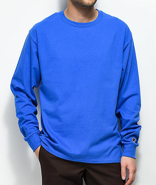 05d1675aa3f5 Champion Royal Blue Long Sleeve T-Shirt   Zumiez