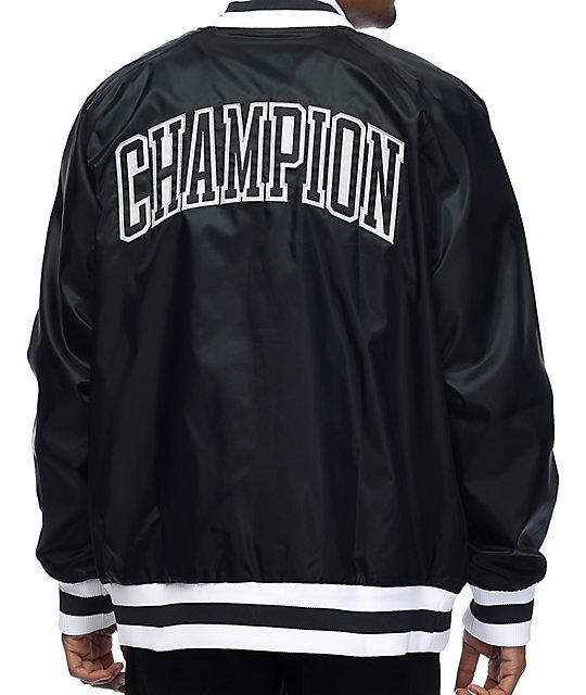d508e391f06b Champion Victory Black Bomber Jacket   Zumiez