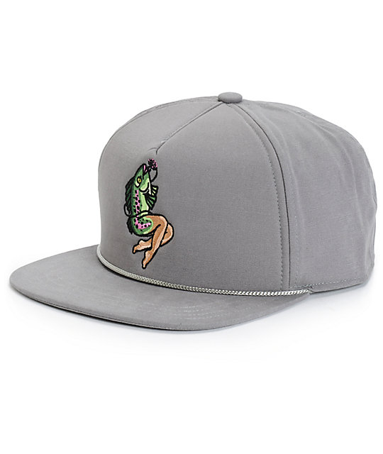 6ca2fe43 Coal Lore Fish Maiden Snapback Hat   Zumiez