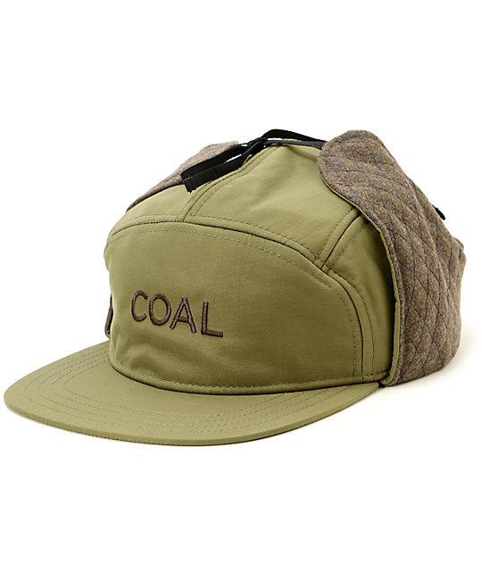 9bfe305d58b Coal The Tracker Flap Hat