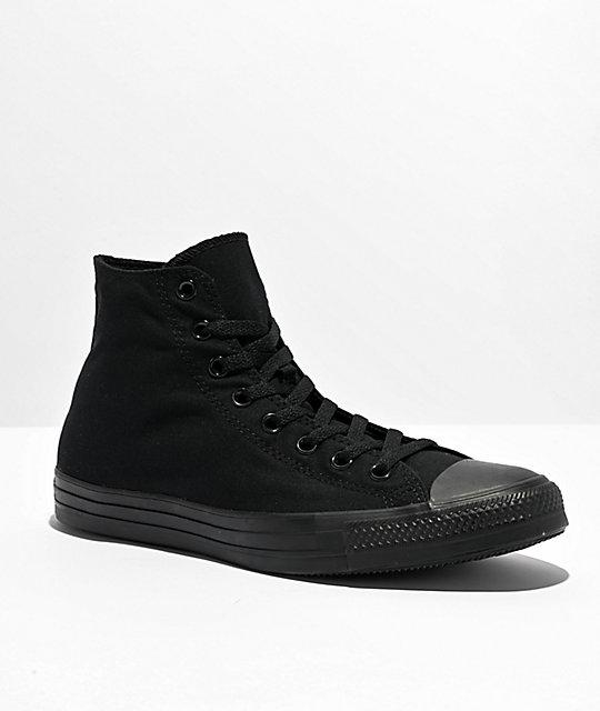 74bede72517b Converse Chuck Taylor All Star Black Hi Top Shoes