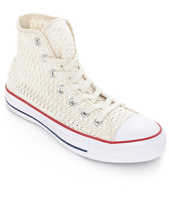 Converse Womens Chuck Taylor All Star Hi Parchment