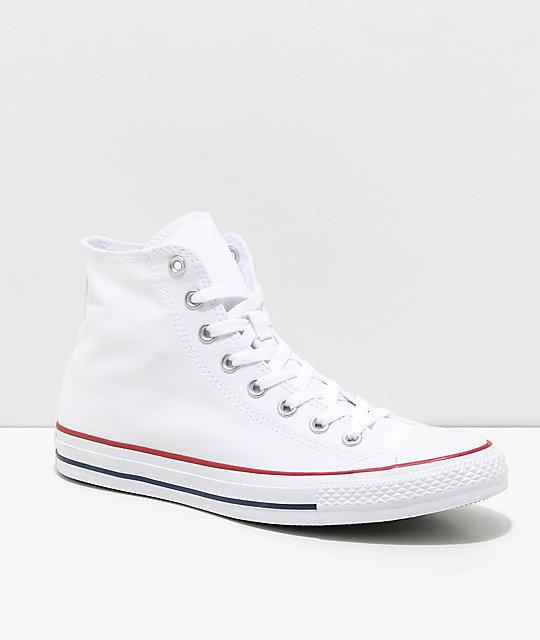 a28352a28c4 Converse Chuck Taylor All Star Hi zapatos blancos ...