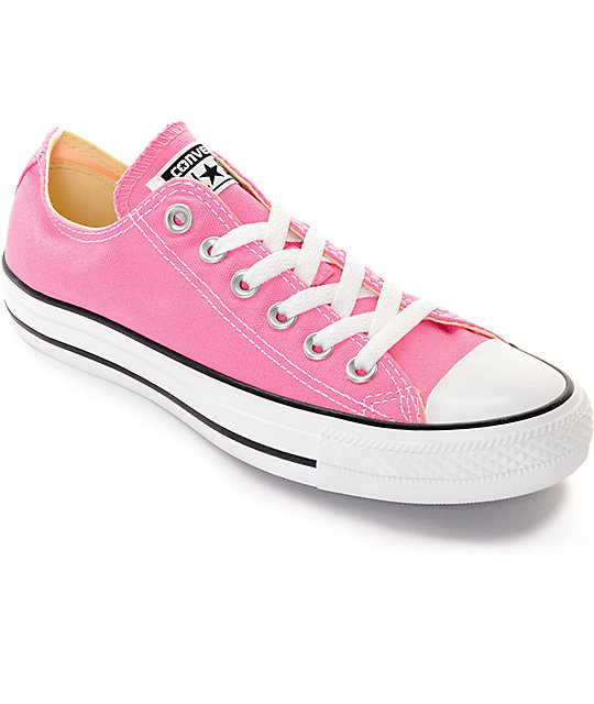 low priced e9c5f e2efc Converse Chuck Taylor All Star Low Pink Shoes