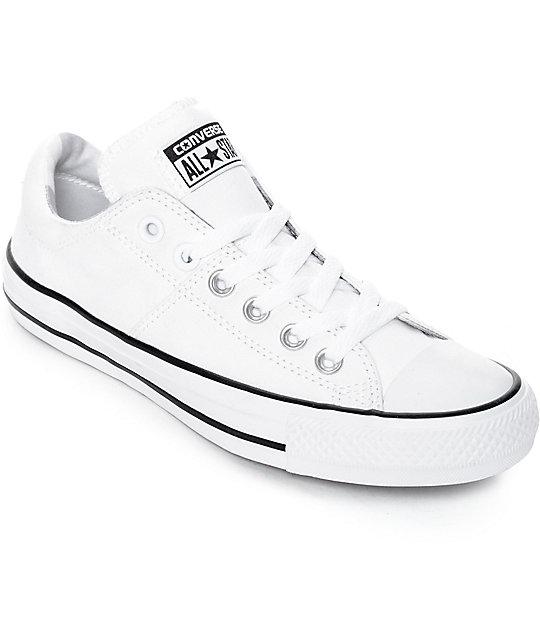 Chuck Madison Converse All Zapatos Taylor Star Ox Blancos 2E9WDHI