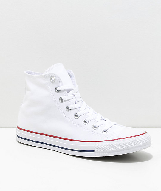 converse vans cheap online, White high tops converse love