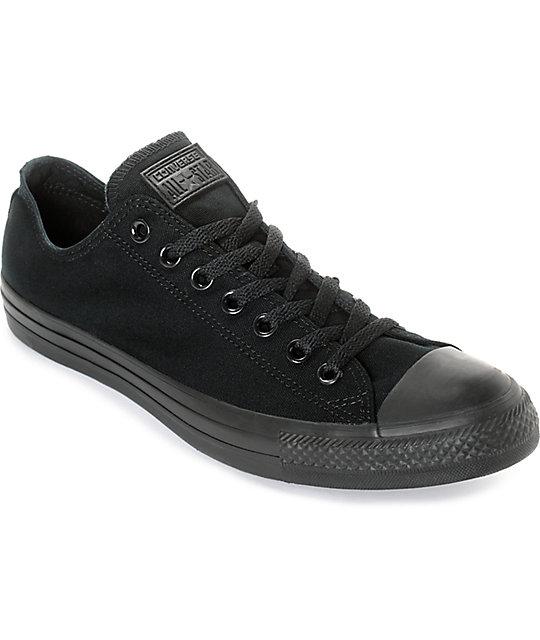 Converse Negros Taylor Zapatos Star Chuck All m0vw8Nn