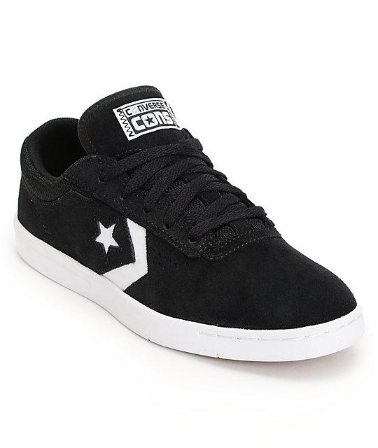 brand new 777a8 17598 Converse KA-Two Lunarlon Black   White Suede Shoes ...