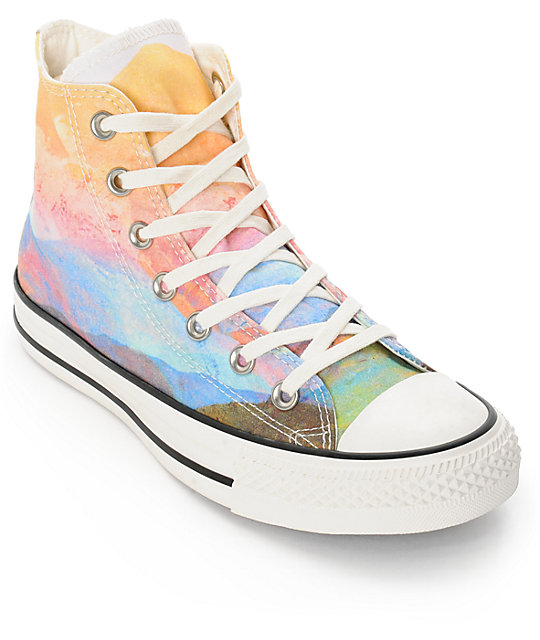 75deb4851f6 Converse Womens CTAS Photo Real Sunset High Top Shoes