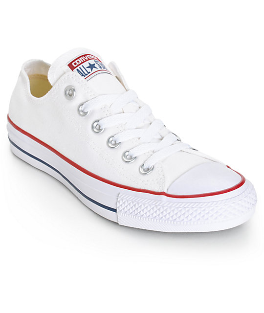 sports shoes 8ede2 ded1d Converse Womens Chuck Taylor All Star White Shoes ...