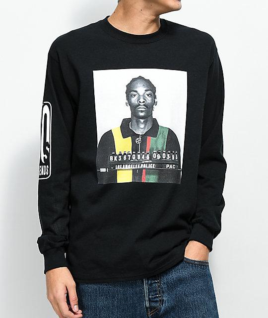 e69365b990f2 Cross Colours Snoop Mug Black Long Sleeve T-Shirt | Zumiez