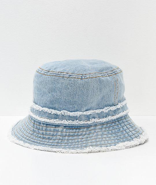 D   Y Denim Bucket Hat  2f5c3b49263